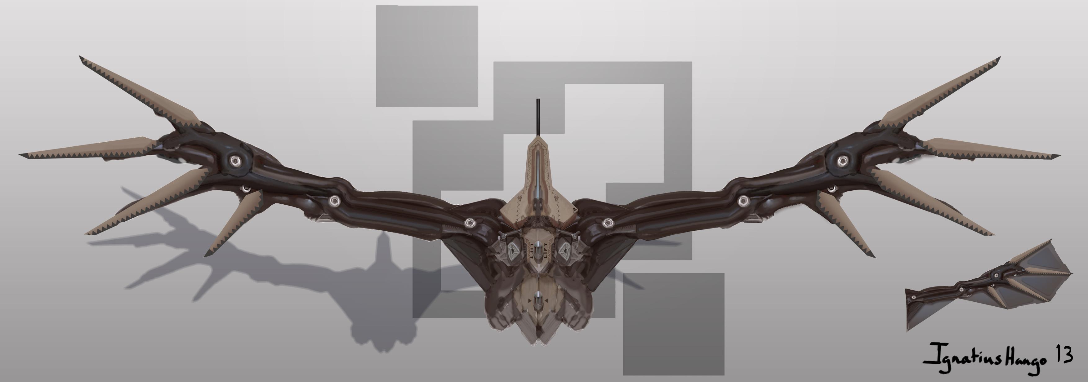 Bird of prey by IggyTek