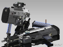 SEVAVCOM-16 Kers Rifle REN-3 by IggyTek