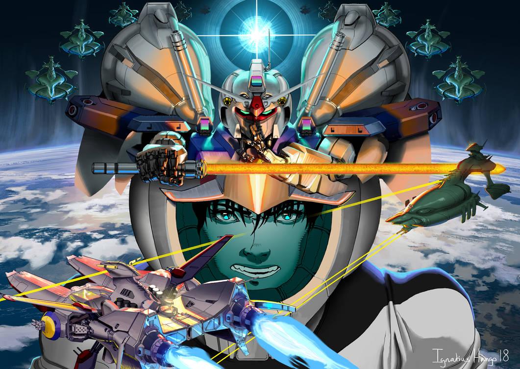 Gundam Stardust Memory by IggyTek
