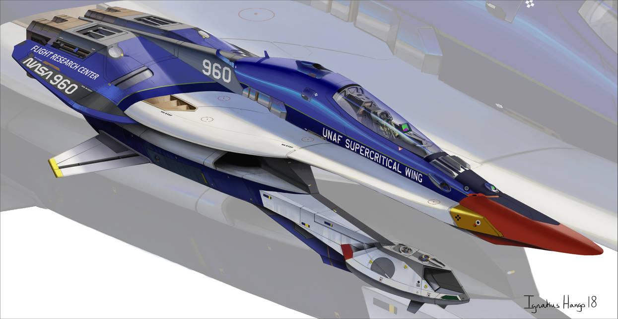 Supercritical Wing prototype by IggyTek