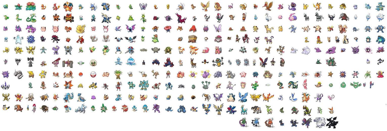 unova pokemon pixel art - photo #29