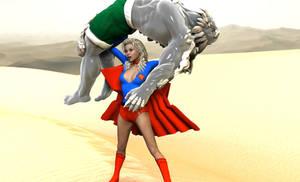 Doomsday vs Supergirl 7 by MickLee99