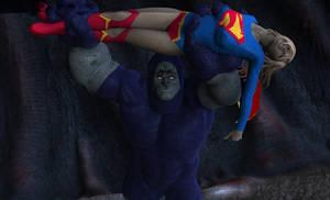 Supergirl vs Darkseid 3