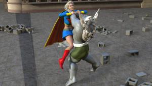 Doomsday Beats Supergirl 2