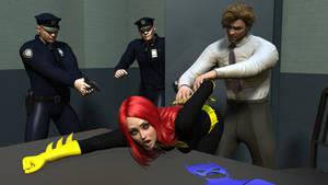 Batgirl Gets Interogated