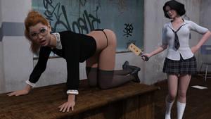 Teacher Punish by MickLee99