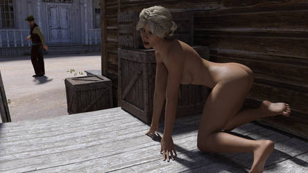 Nude in the West by MickLee99