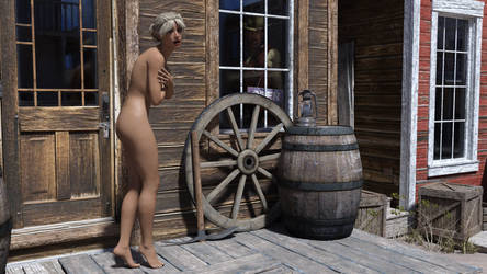 Nude in the West 2 by MickLee99