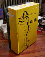 Milla and Kill Bill PC Case by leeloo5