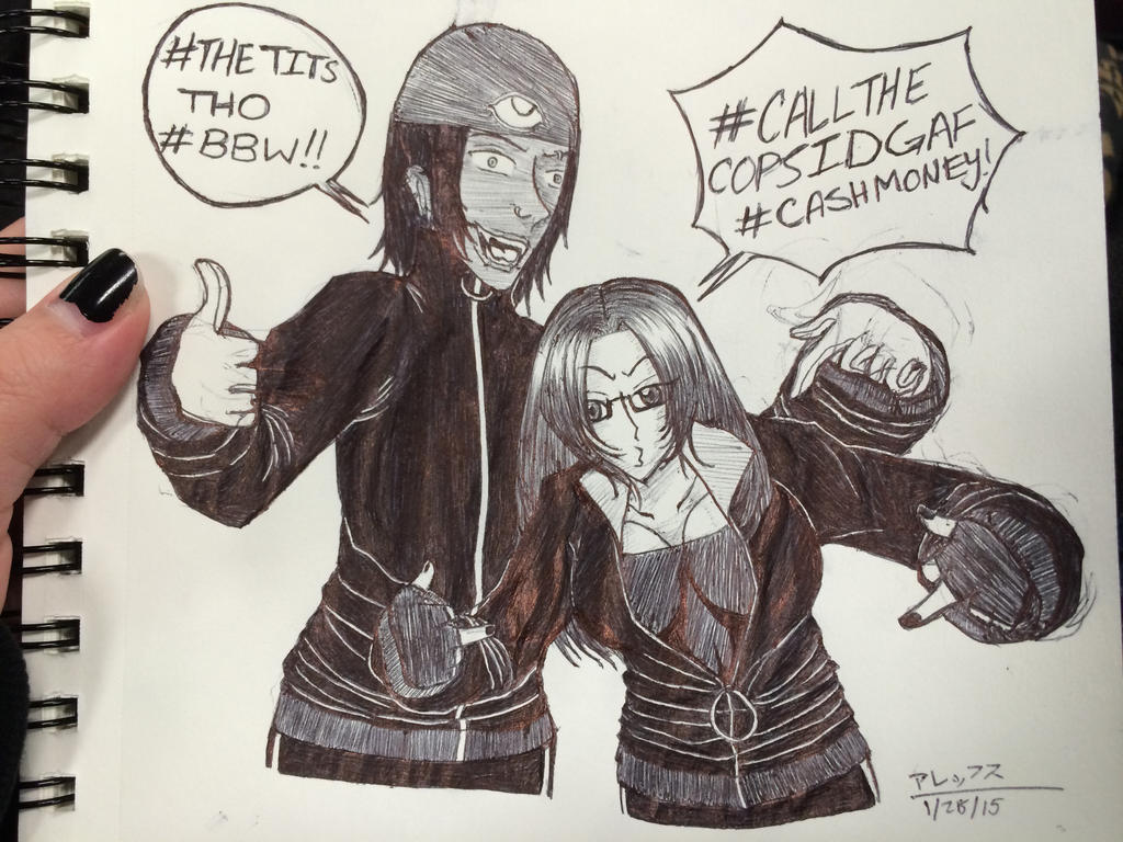 Hellsing: Young Keezy And Jan By KoroMarimo ...