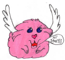 Cute Pink Creature by sideshowbobfanatic