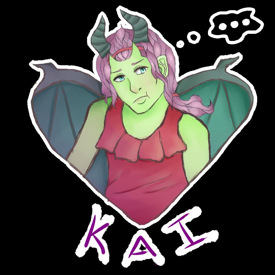 Male Kai by NotedDreams