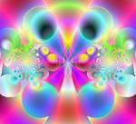 Glowing Rainbow Balls