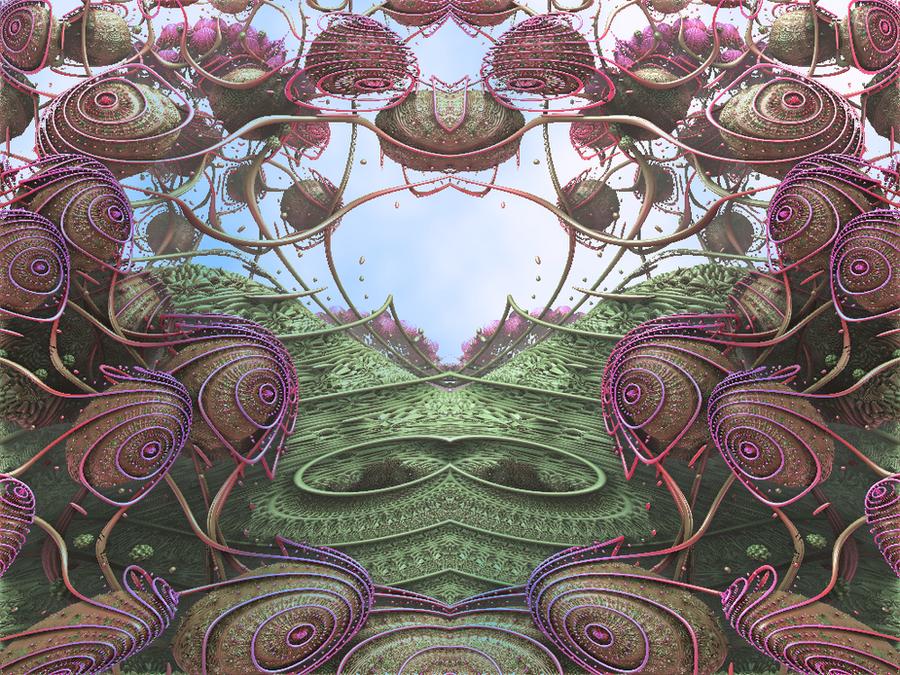 Mandelbulb Life by Undead-Academy