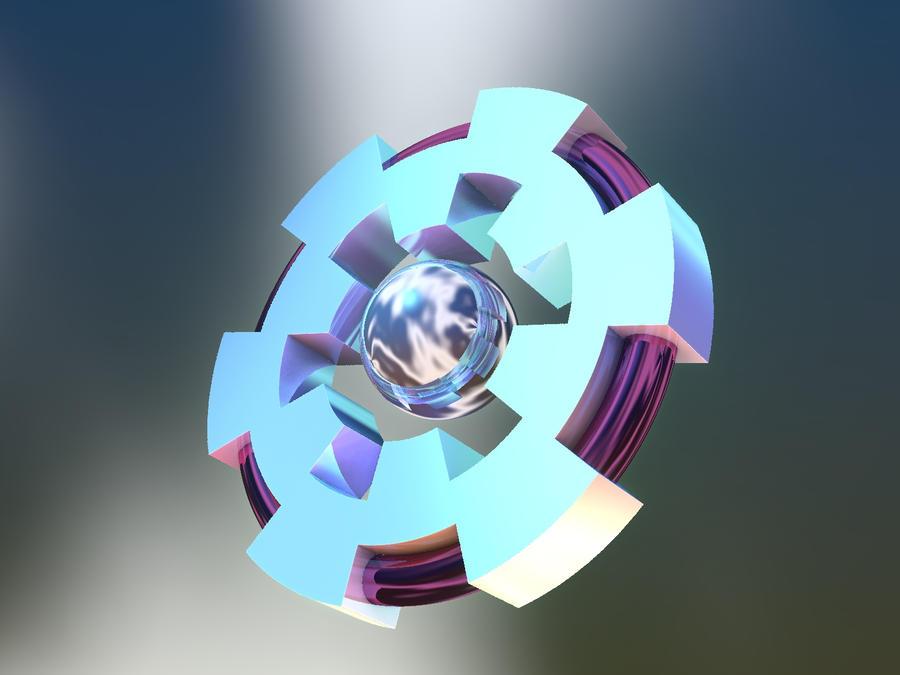 Sphere in gear by Undead-Academy