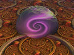 Swirls in spheres