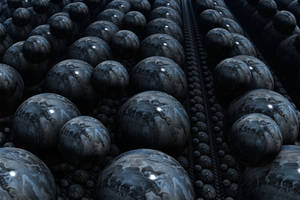 Marbled Spheres by Undead-Academy