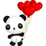 Panda Love - Free to use by Undead-Academy