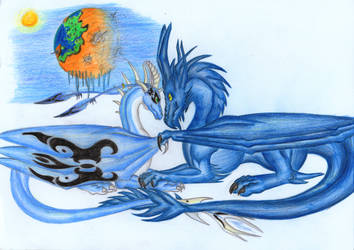 Ghea and Adra by E-Arkys