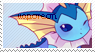 Vaporeon Stamp by SilkyBunny