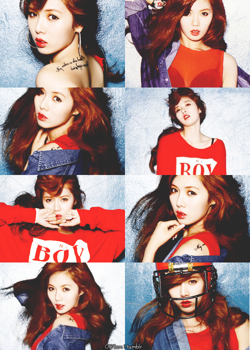 Hyuna - Bubble Pop! by mayradias