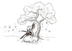 Faerie Tree by aquineth