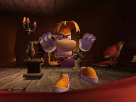 Angry Rayman 3 by MelancholyRequiem11