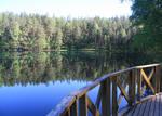Lake reflection stock by Niverdia-stock