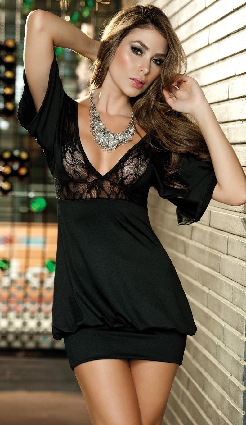 Black Minidress by PrettyPrincessJane