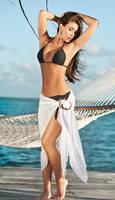 Black Bikini and Skirt by Paolacospi