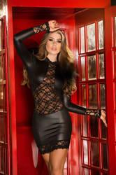 Black Minidress by Paolacospi