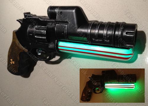 Plasma blaster pistol mod by GirlyGamerAU