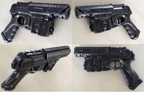 Terra Nova Nerf pistol mod finished by GirlyGamerAU