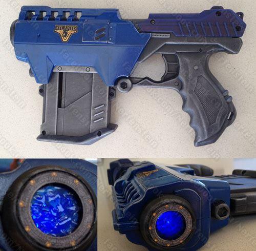 Stargate Atlantis Lanard Nerf pistol gun by GirlyGamerAU