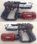 Mass Effect N7 flamethrower pistol prop