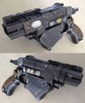 Nerf Vortex Proton Fallout PIP-Boy gun prop