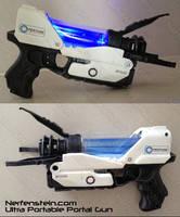 Portal Pistol Aperture Science Chell Gun Nerf by GirlyGamerAU