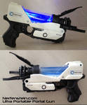 Portal Pistol Aperture Science Chell Gun Nerf