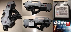 #RetakeME3 Protest Mod Nerf N7 blaster weapon
