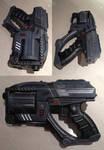 Mass Effect Predator Shuriken mashup blaster mod