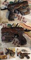 BioShock Nerf pistol the rust bucket gun