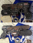 Gears of War pistol mod Nerf gun / toy saw
