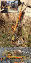 Borderlands Sniper Rifle prop gun build