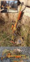 Borderlands Sniper Rifle prop gun build by GirlyGamerAU