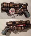 Batman Steampunk blaster pistol non Nerf mod