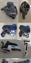 Mass Effect character Nerf gun mods / props