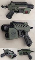 Aliens M41B Nerf Pulse Pistol mod Mini Pulse Rifle