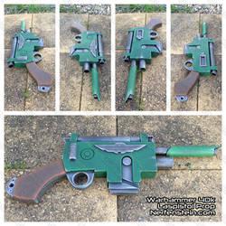 Warhammer 40K Laspistol mdf prop gun build