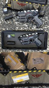 SyFy Defiance Infector pistol Nerf gun mod