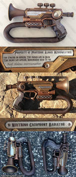 Steampunk trumpet Nerf mod - LandgraveCustoms comp